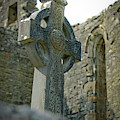 Celtic Cross In Ireland by Mark Duehmig