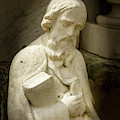 Cemetery Statue by Jean Noren