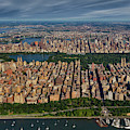 Central Park Nyc Aerial by Susan Candelario