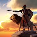 Centurion And Lion by Daniel Eskridge