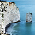 Chalk Cliffs And Sea Stack At South by Adam Burton / Robertharding