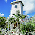 Chapel In Half Moon Cay, Bahamas by Dawn Richards