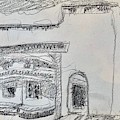 Charcoal Pencil Arch.jpg by Suzanne Cerny