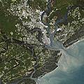 Charleston City, South Carolina, Us by Planet Observer