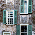 Charleston Green Shutters by Dale Powell