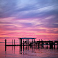 Charleston Harbor Sunrise II by Jon Glaser