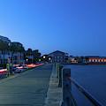 Charleston Nightlife - Long Exposure by Dale Powell