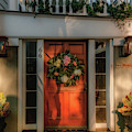 Charleston Southern Home Entrance by Dale Powell