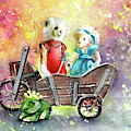 Charlie Bears King Of The Fairies And Thumbelina by Miki De Goodaboom