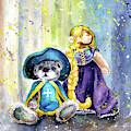 Charlie Bears Faux Pas And Princess by Miki De Goodaboom