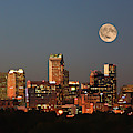 Charlotte City Skyline At Sunset by Kevin McCarthy