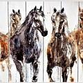 Chasin Wild Horses by Rob Hans