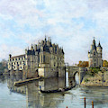 Chateau De Chenonceau - Emmanuel Lansyer by Weston Westmoreland