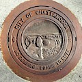 Chattanooga Manhole Cover by Vincent Green