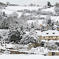 Chedworth Village In Winter by Tim Gainey