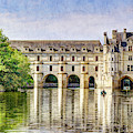 Chenonceau From The East - Short Vintage by Weston Westmoreland