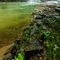 Cherry Falls On Elk River by Thomas R Fletcher