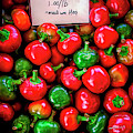 Cherry Peppers by Janice Pariza