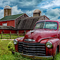 Chevrolet In The Countryside In Hdr by Debra and Dave Vanderlaan