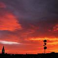 Cheyenne, Wyoming Sunset by Chance Kafka