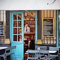 Chez Julien Cafe Paris France by Brian Jannsen