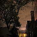 Chicago Alley At Night by Bruno Passigatti