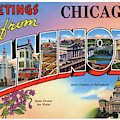 Chicago Greetings - Version 2 by Mark Miller