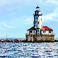 Chicago Il - Chicago Harbor Lighthouse by Susan Savad