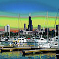 Chicago Marina by Charles Shoup