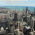 Chicago Overview  by Christiane Schulze Art And Photography