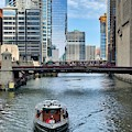 Chicago River Cruise by Brian Eberly