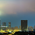 Chicago Skyline Panorama At Dusk by Gregory Ballos