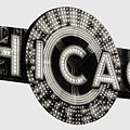 Chicago Theater Marquee - T-shirt by Daniel Hagerman
