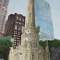 Chicago Water Tower 1a by Jeffrey Oleniacz