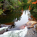 Chikanishing River In Autumn by Debbie Oppermann