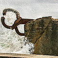 Chillida Comb Of The Wind - Tempest by Weston Westmoreland