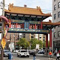 Chinatown Gate In Seattle Washington International District R1494b by Wingsdomain Art and Photography