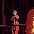 Chinese Opera Singer Onstage by Karen Foley
