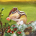 Chippy Chipmunk by Christine Dekkers