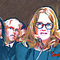 Christine Blasey Ford Testifies Before Senate by Candace Lovely
