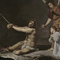 Christ After The Flagellation Contemplated By The Christian Soul by Diego Rodriguez de Silva y Velazquez