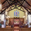Christ Episcopal Interior by Allin Sorenson