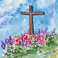 Christian Cross 3 by Asha Sudhaker Shenoy
