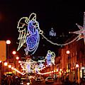 Christmas Angel In Viana Do Castelo Portugal by James Brunker