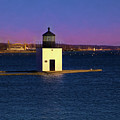 Christmas Eve At Derby Lighthouse by Jeff Folger