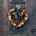 Christmas Heart Wreath by Tim Gainey
