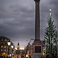 Christmas In Trafalgar Square, London by Perry Rodriguez