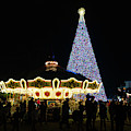 Christmas Tree Carousel Delray Beach Florida by Lawrence S Richardson Jr
