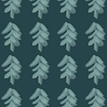 Christmas Tree Pattern by Maria Langgle