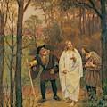 Christus Und Die J Nger Von Emmaus 1914 by Gebhardt Eduard von